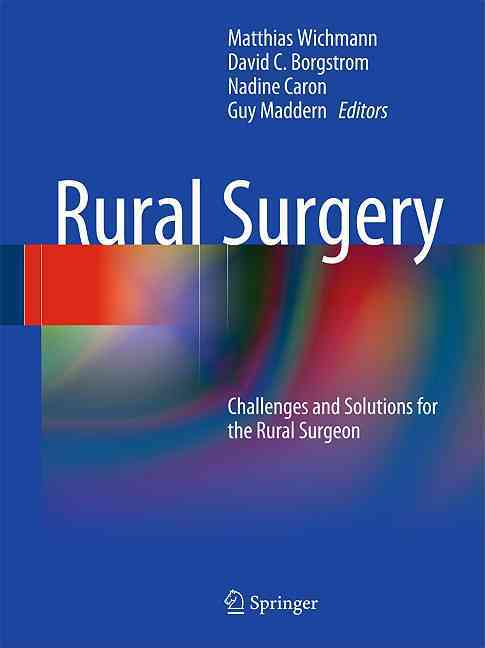 Rural Surgery By Wichmann, Matthias